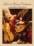Workbook for Wright/Simms' Music in Western Civilization, Media Update   2010 9780495801863 Front Cover