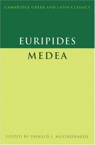Euripides Medea  2002 edition cover