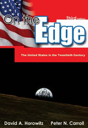 On the Edge The United States in the Twentieth Century 3rd 2005 (Revised) edition cover