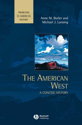 American West A Concise History  2007 9780631210863 Front Cover