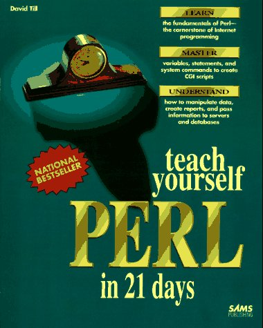Teach Yourself Perl in 21 Days  N/A 9780672305863 Front Cover