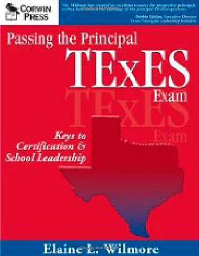 Passing the Principal TExES Exam Keys to Certification and School Leadership  2003 edition cover