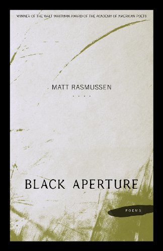 Black Aperture: Poems  2013 edition cover