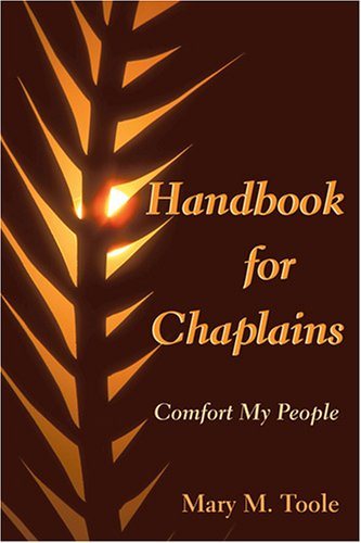 Handbook for Chaplains Comfort My People  2006 edition cover