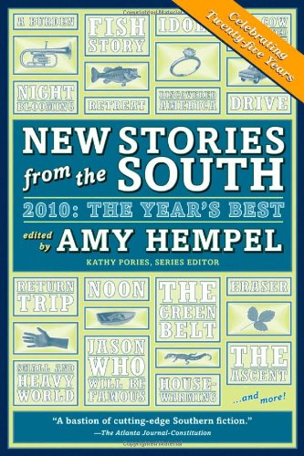 New Stories from the South 2010 The Year's Best  2010 edition cover