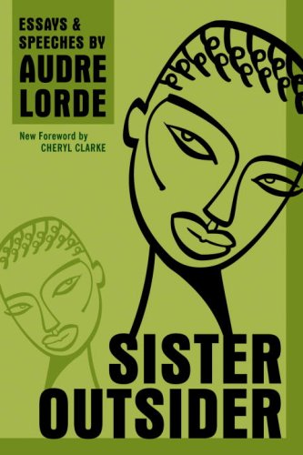 Sister Outsider Essays and Speeches N/A 9781580911863 Front Cover