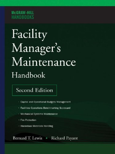 Facility Manager's Maintenance Handbook  2nd 2007 (Revised) 9780071477864 Front Cover