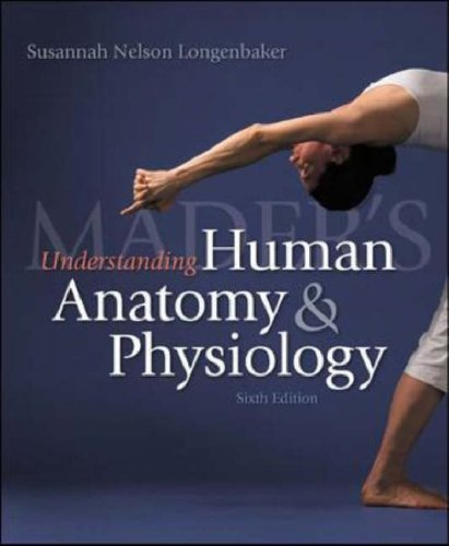 Mader's Understanding Human Anatomy and Physiology  6th 2008 (Revised) edition cover
