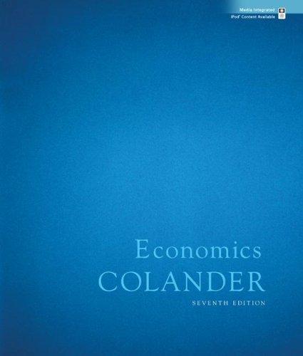 Economics  7th 2008 edition cover