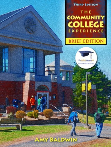 Community College Experience  3rd 2012 edition cover