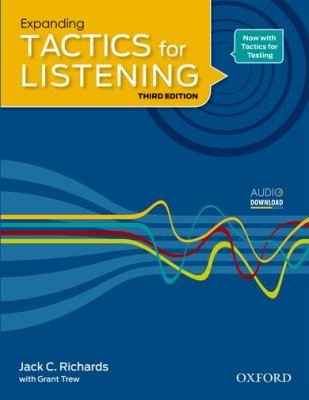 TACTICS FOR LISTENING EXPANDING: STUDENT'S BOOK 3RD EDITION  3rd 2011 9780194013864 Front Cover