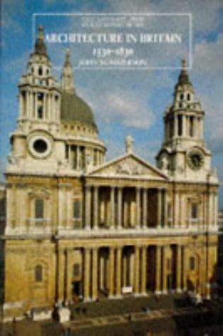 Architecture in Britain, 1530-1830  9th 1993 edition cover