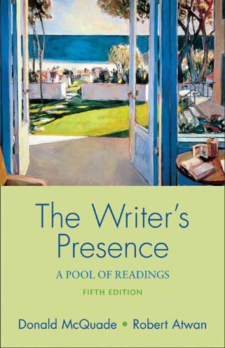 Writer's Presence A Pool of Readings 5th 2006 9780312433864 Front Cover