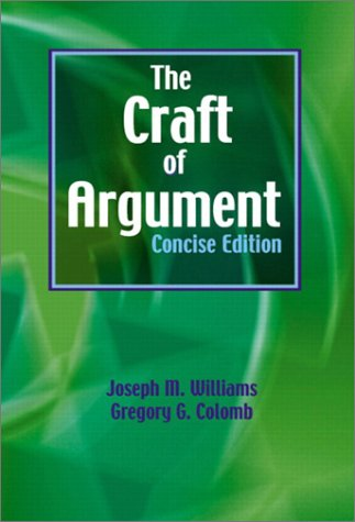 Craft of Argument   2003 edition cover