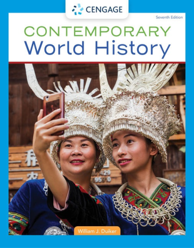 Cover art for Contemporary World History, 7th Edition