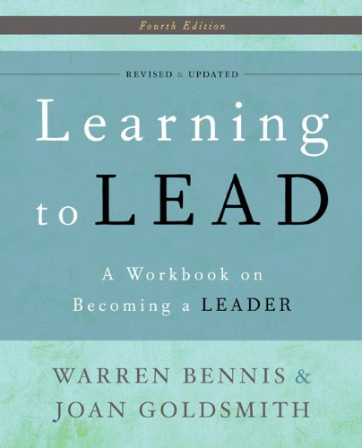 Learning to Lead A Workbook on Becoming a Leader 4th 2010 (Workbook) edition cover
