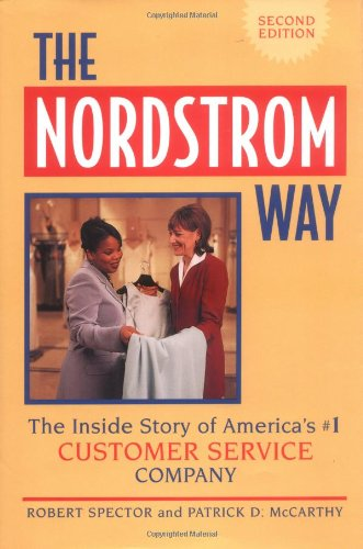 Nordstrom Way The Inside Story of America's Customer Service Company 2nd 2000 edition cover