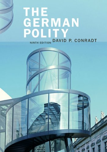 German Polity  9th 2008 edition cover