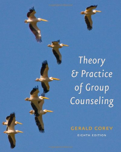 Theory and Practice of Group Counseling  8th 2012 edition cover