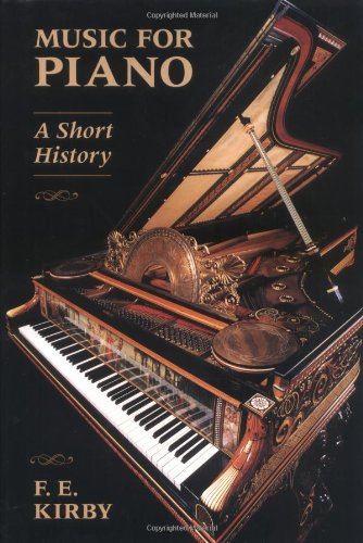 Music for Piano A Short History  1995 edition cover
