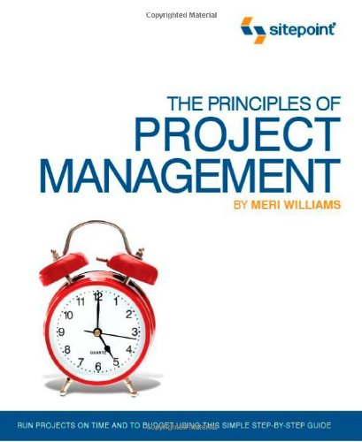 Principles of Project Management   2008 9780980285864 Front Cover