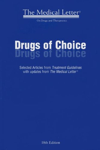 Drugs of Choice: Selected Articles from Treatment Guidelines With Updates from The Medical Letter  2012 edition cover