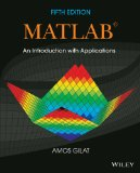 Matlab An Introduction with Applications 5th 2014 edition cover