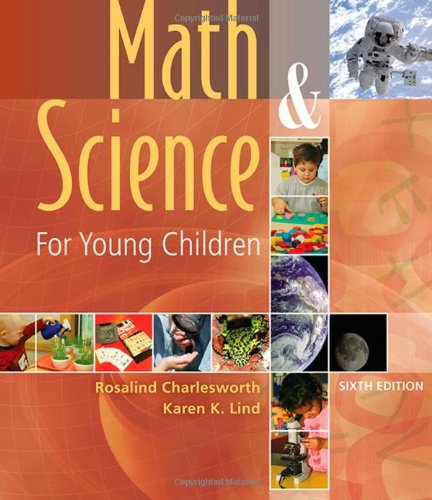 Math and Science for Young Children  6th 2010 edition cover