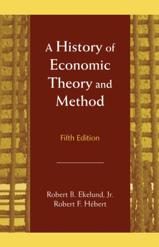 History of Economic Theory and Method  5th 2007 edition cover