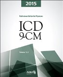 ICD-9-CM 2015 Professional Edition for Physicians - Two Volume Set 1st edition cover