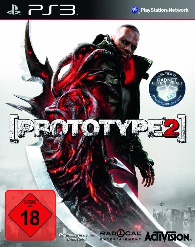 Prototype 2 - Limited Radnet Edition PlayStation 3 artwork