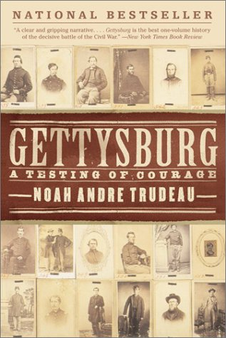 Gettysburg A Testing of Courage  2002 edition cover