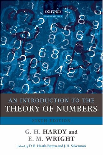 Introduction to the Theory of Numbers  6th 2008 edition cover