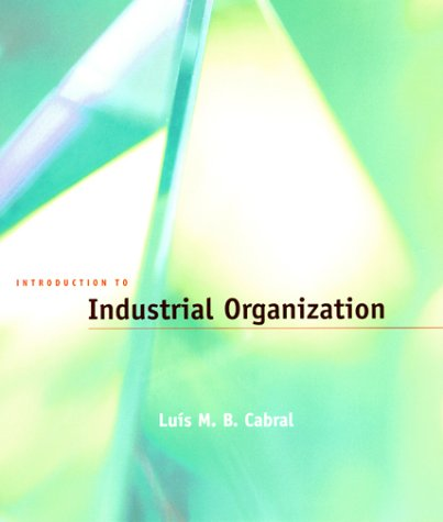 Introduction to Industrial Organization   2000 edition cover
