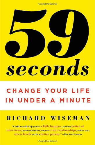 59 Seconds Change Your Life in under a Minute N/A edition cover