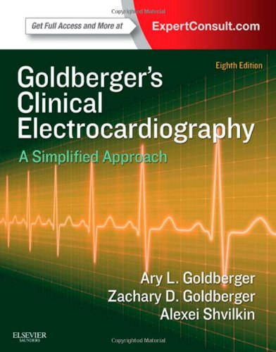 Clinical Electrocardiography A Simplified Approach 8th 2013 edition cover