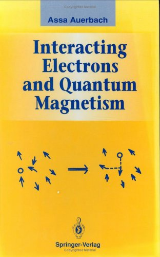 Interacting Electrons and Quantum Magnetism   1994 edition cover