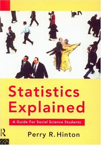 Statistics Explained An Easy Guide for Students  1995 edition cover