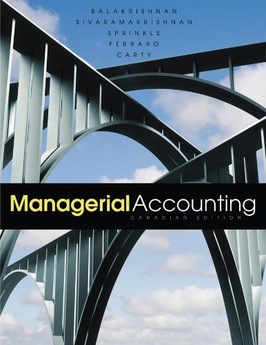 Managerial Accounting   2011 9780470677865 Front Cover