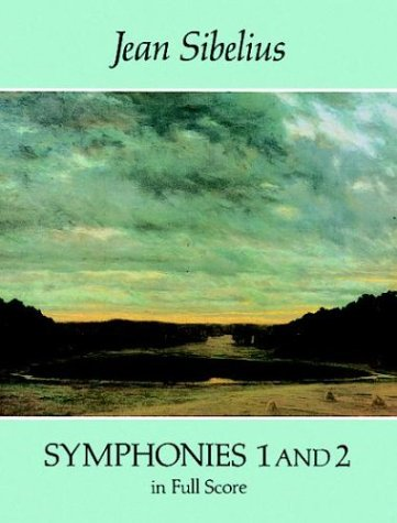 Symphonies 1 and 2 in Full Score  N/A edition cover