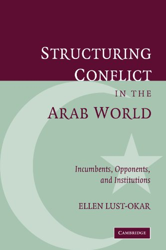 Structuring Conflict in the Arab World Incumbents, Opponents, and Institutions N/A 9780521032865 Front Cover