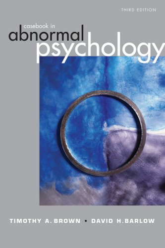 Casebook in Abnormal Psychology  3rd 2007 edition cover