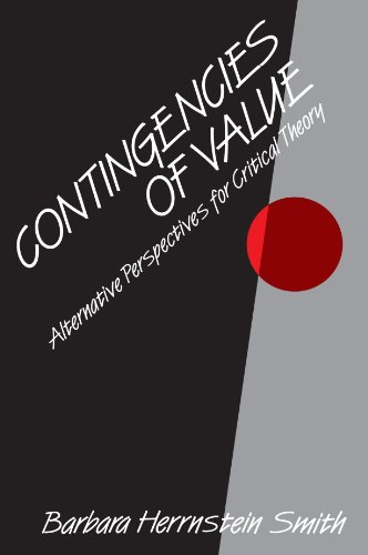 Contingencies of Value Alternative Perspectives for Critical Theory  1988 edition cover