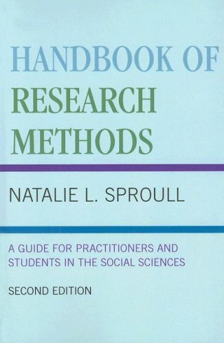 Handbook of Research Methods A Guide for Practitioners and Students in the Social Sciences 2nd 2002 (Revised) 9780810844865 Front Cover