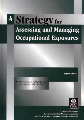Strategy for Assessing and Managing Occupation Exposures 2nd 1998 edition cover
