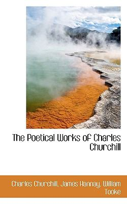 Poetical Works of Charles Churchill N/A 9781116105865 Front Cover