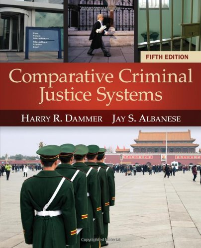 Comparative Criminal Justice Systems  5th 2014 edition cover