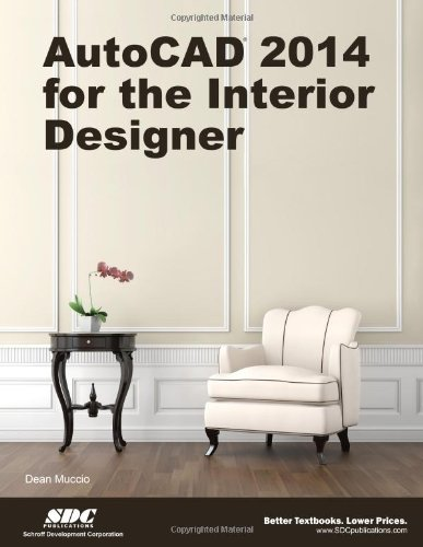 AutoCAD 2014 for the Interior Designer  N/A edition cover
