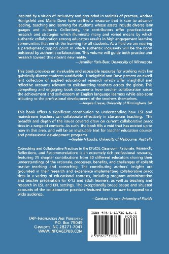 Coteaching and Other Collaborative Practices in the EFL/ESL Classroom Rationale, Research, Reflections, and Recommendations  2012 edition cover
