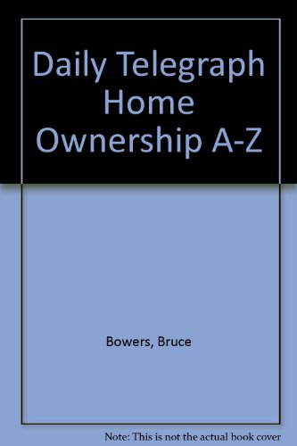 Daily Telegraph Home Ownership A-Z   1981 edition cover